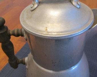 Aluminum Wearever Coffee Pot