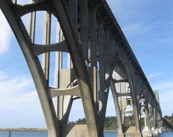 Newport Arches at Yaquina Bay  8 x 10