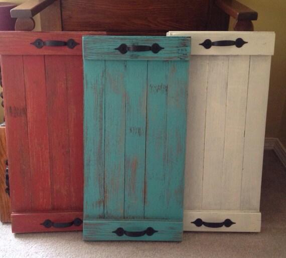 Flooring For Seasonal Homes: Items Similar To Large Painted Repurposed Hardwood Floor