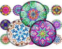 Popular Items For Mandala Button On Etsy