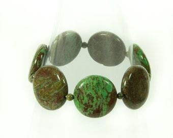 Designer Jasper Gemstone Bracelet.