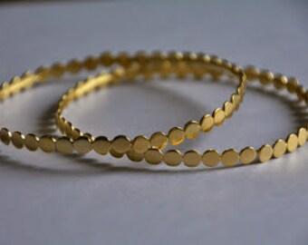 Bridal hoop bracelet, vintage gold bracelet, gold bracelet bridesmaid bracelets, bangle bracelets, gold bangles 14k, stacking bracelets gold