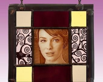 Joan Harris, Christina Hendricks, Joan Harris stained glass, Christina Hendricks suncatcher, Mad Men, valentine's day, Christina Hendricks
