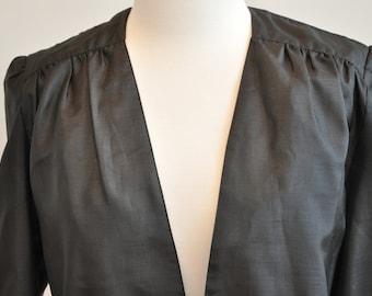 Lightweight Black 80's jacket