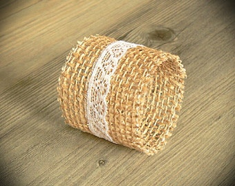 Wedding Table Decor, Burlap Wedding Napkin Rings, Rustic Wedding Napkin Holders, Set of 50
