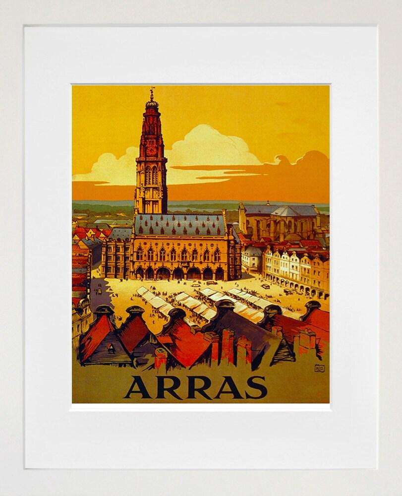 Travel art french print poster france vintage home decor for Art decoration france