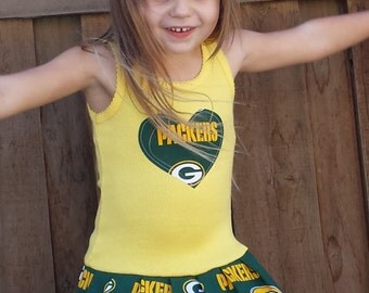 Green Bay Packers, Dress. All NFL and College Teams Available.