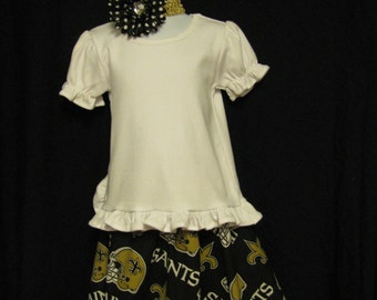 Toddler 3T  Black and Gold Skirt