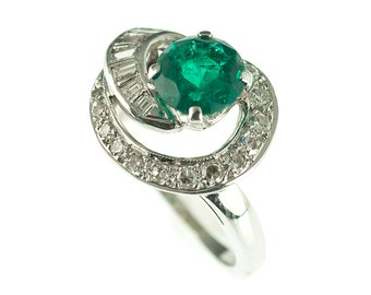 popular items for chatham emerald ring on etsy