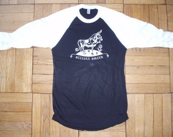 Elliott Smith t-shirt new vintage style concert tour jersey ferdinand the bull choose size XS-3XL
