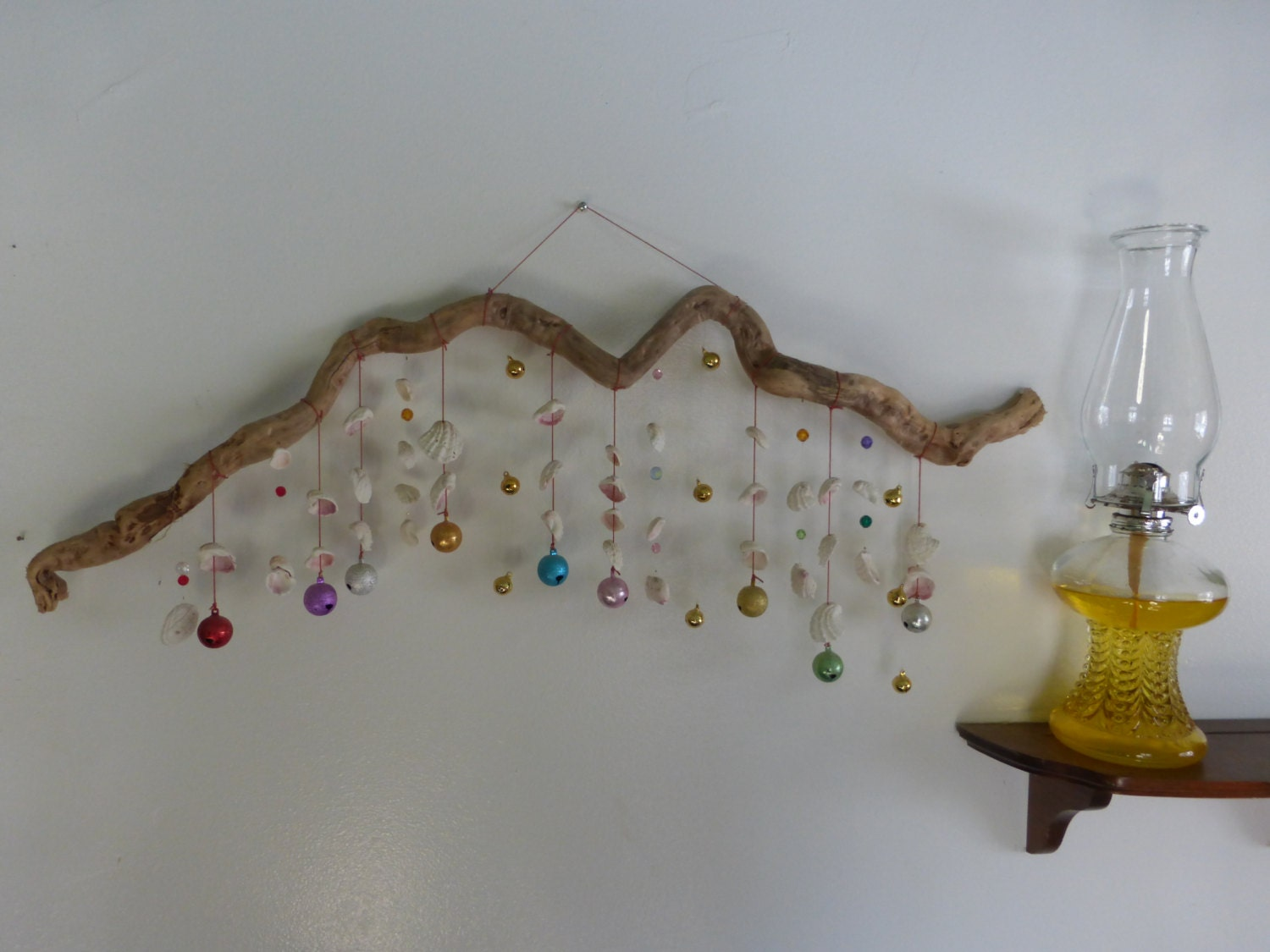 Mobile Hanging Mobile Driftwood Ceiling Art Zen By