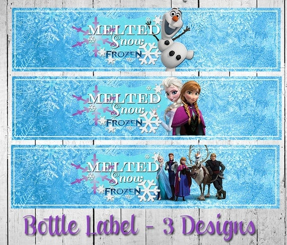That Cute Little Cake: {Frozen Movie Night} Printables