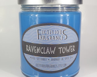 Ravenclaw Tower -- Harry Potter Inspired 8oz Scented Soy Candle