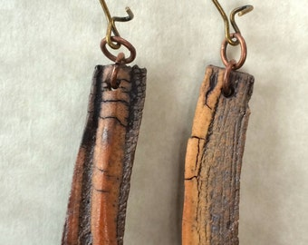 Fabulous organic dangle earrings!