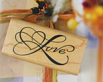 "Buffer wooden ""Love"""