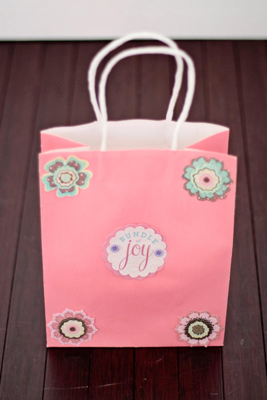 baby shower gift bag bundle of joy gift bag