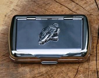 Superbike Hand Rolling Tobacco Cigarette Tin Gift