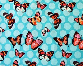 Butterfly fabric, 100% premium quilting cotton fabric by the yard by Paula Prass for Michael Miller. Need more fabric yardage? Just ask.