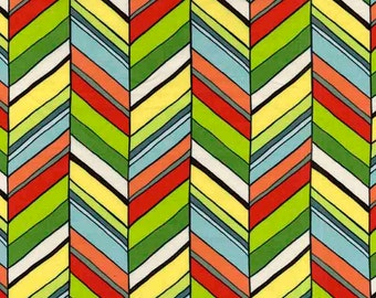 Chevron fabric, quilting cotton fabric by the yard, designer fabric by Paula Prass for Michael Miller. Need more fabric yardage? Just ask.