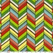 Red and green cotton fabric by the yard, New Chevron for Michael Miller Fabrics. Need more fabric yardage? Just ask.