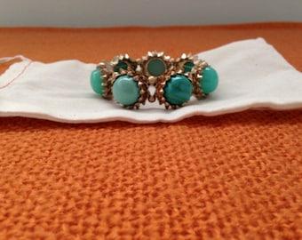 Everyday bracelet, teal/blue