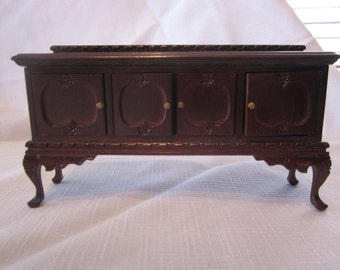 Vintage Dollhouse Side Buffet in Mahogany
