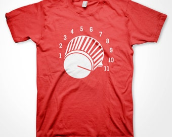 Audio Volume Knob T-shirt Loud Music Fan shirts