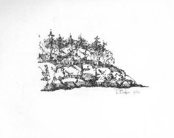 Lopez Shoreline (original)