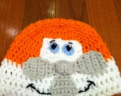 Airplane Plane Crochet Beanie Skullcap Hat-cute costume idea-all sizes available newborn through adult