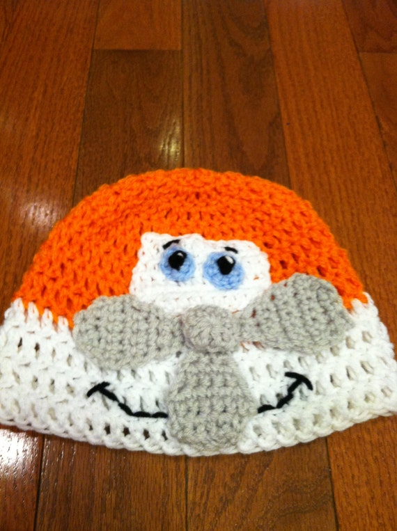 Airplane Plane Crochet Beanie Skullcap Hat-cute costume idea-all sizes ...