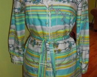 1960's Uber Sleek and Chic ANDREA GAYLE Dress with Matching Belt - Fit for a Fashista