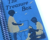 The Treasure Box a Recycled Hardcover Book Journal/ Sketchbook