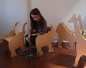 Rhino Chair - ready to ship- from The Child's Menagerie Furniture Collection by Paloma's Nest