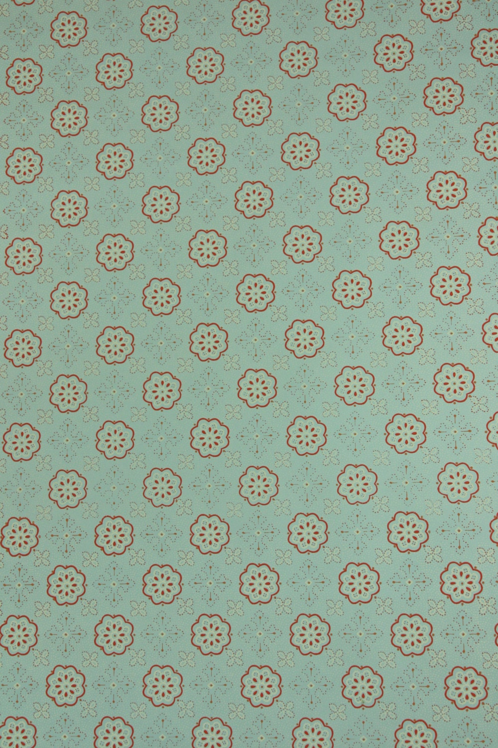1950s vintage wallpaper by the yard geometric by