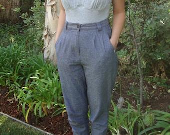 Vintage Heather Grey Bodysuit S/M