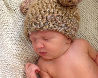 Crochet PATTERN Thanksgiving turkey hat (perfect for a Turkey Trot!) Sizes preemie through adult extra large