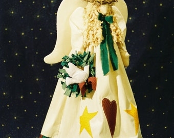 Cloth Doll E-Pattern- 21in Christmas Angel Epattern