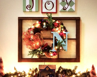 JOY holiday canvas set 8x8s (in stock now)