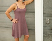 Inventory SALE - Organic Clothing - Hemp Striped Tank Dress
