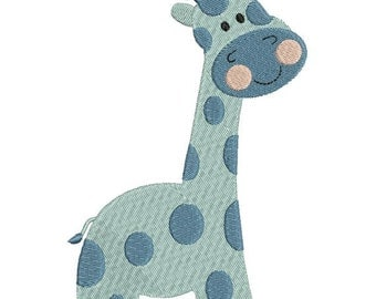 Giraffe Zoo Jungle Machine Embroidery Designs 4x4 & 5x7 Instant Download Sale