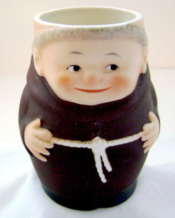 Friar Monk Hummel Mug Cup Figurine West Germany By Boomerville