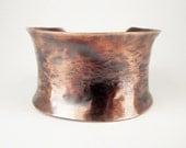 Copper Cuff / Copper Jewelry / Hand Forged Jewelry / Custom Handmade Jewelry