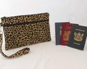 Family Passport Holder - travel document organizer - passport wallet - travel wallet - travel organizer - multiple passport READY to POST