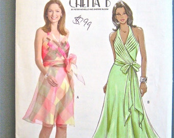 Uncut Butterick  B4514 Halter Vintage  Sewing Pattern  Bust 30 34 inches