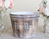 Flip Flops Bucket by Morgann Hill Designs