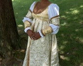 RESERVED - Payments for Golden Italian Renaissance Gown