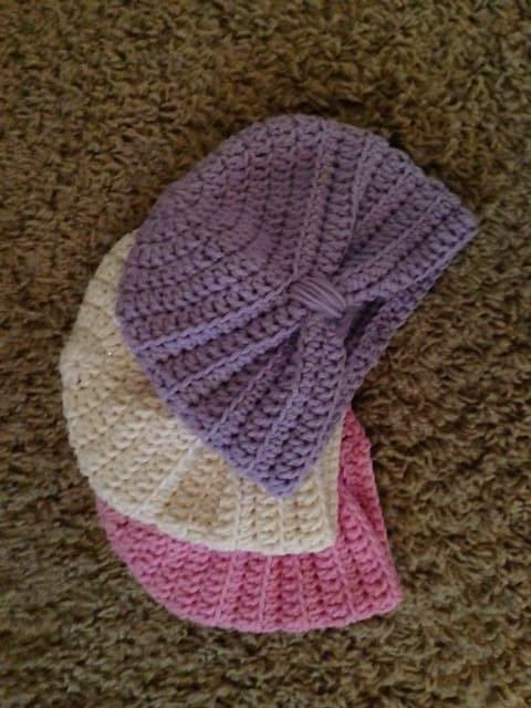 Free Crochet Pattern For Baby Turban Dancox For
