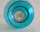Aqua Blue Glass Vase - Hermanos Avalos