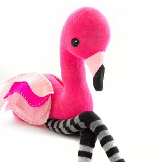 Sock Flamingo Pattern (PDF)
