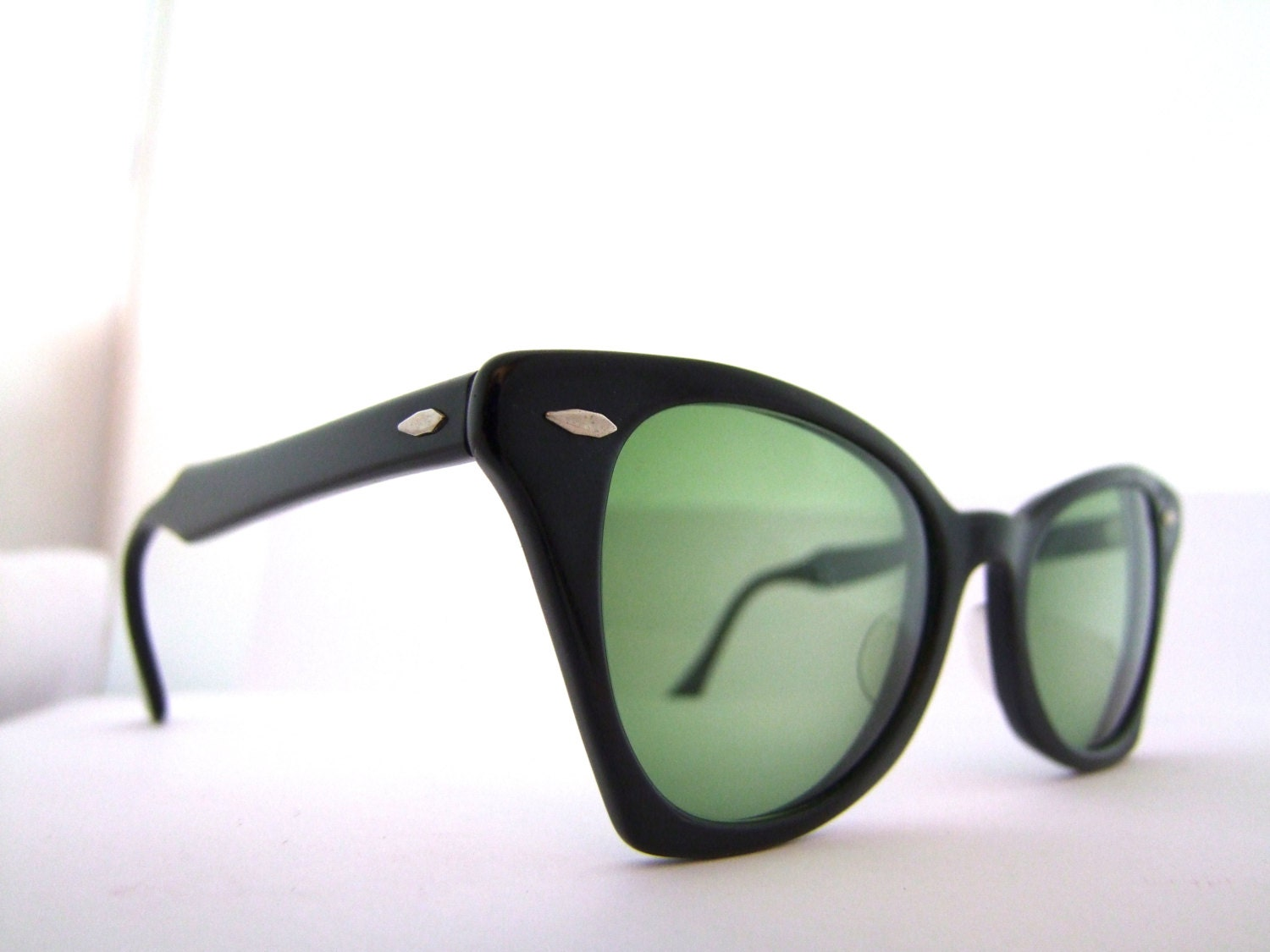 On Sale Rare 1950s Ray Ban Cat Eye Sunglasses Eyeglass